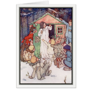 Wendy House and Lost Boys by Alice B. Woodward Card