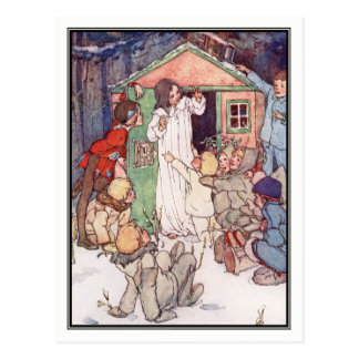 Wendy House and Lost Boys by Alice B. Woodward Postcard
