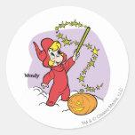 Wendy Magic Wand 3 Classic Round Sticker