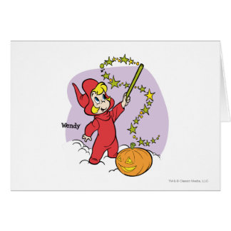 Wendy Magic Wand 3 Greeting Card