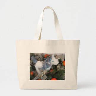 Wendy of the Winter Unicorn Knitting Bag