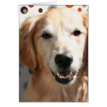 Wendy the Golden Retriever Greeting Card