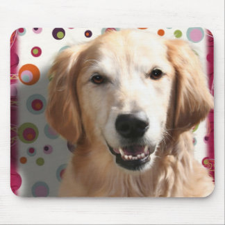 Wendy the Golden Retriever Mouse Pad