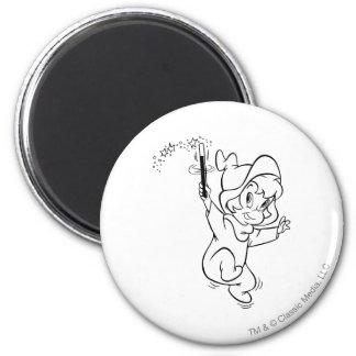 Wendy Waving Wand 1 2 Inch Round Magnet