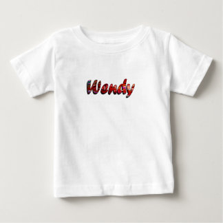 Wendy White Short Sleeve Apparel Baby T-Shirt