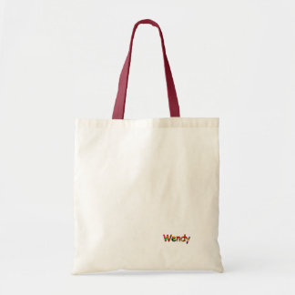 Wendy's canvas bag