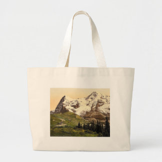 Wengern Alp, Monch and Eiger, Bernese Oberland, Sw Tote Bag