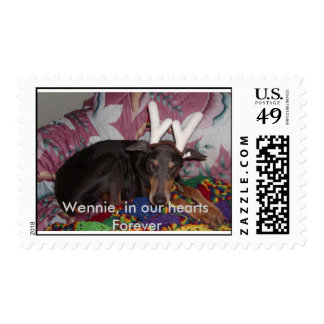 Wennie 3, Wennie, in our hearts Forever Stamps