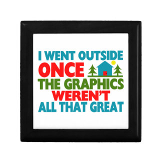 Went Outside Graphics Weren't Great Jewelry Box