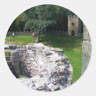 Wentworth Castle Classic Round Sticker