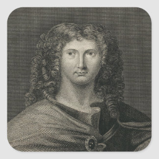 Wentworth Dillon, 4th Earl of Roscommon Square Sticker