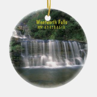 Wentworth Falls. Australia Ceramic Ornament