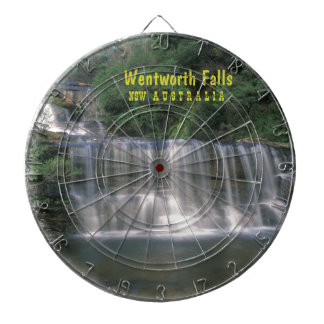 Wentworth Falls Australia Dartboard With Darts