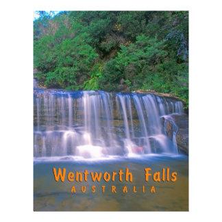 Wentworth Falls Australia Personalized Letterhead