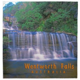 Wentworth Falls Australia Cloth Napkins