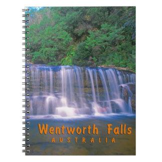 Wentworth Falls Australia Spiral Note Book