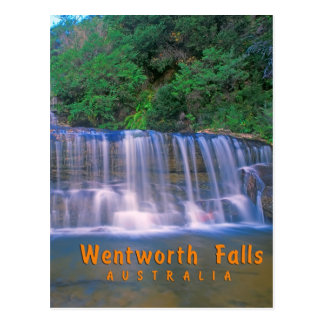 Wentworth Falls Australia Post Card