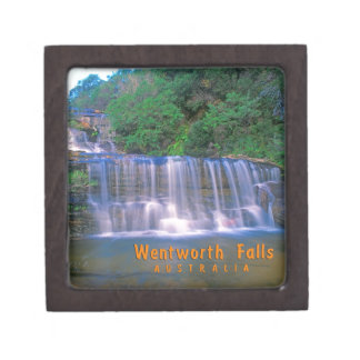 Wentworth Falls Australia Premium Keepsake Boxes