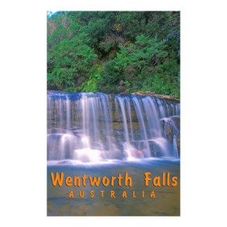 Wentworth Falls Australia Stationery Design