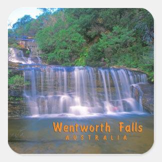 Wentworth Falls Australia Square Sticker