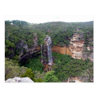 wentworth falls view postcard