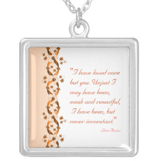 Wentworth Quote Necklace