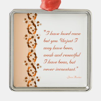 Wentworth Quote Ornament