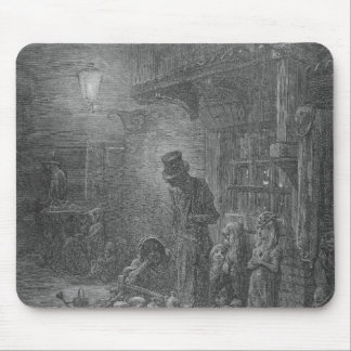 Wentworth Street, Whitechapel, from 'London Mouse Pad