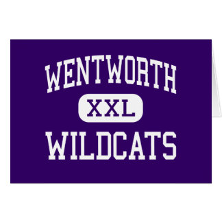 Wentworth - Wildcats - Junior - Calumet City Greeting Card