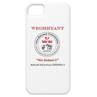 Weohryant University iPhone 5 Case