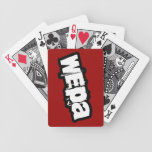 Wepa! Playing Cards.