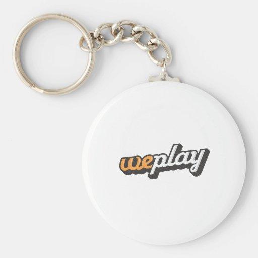 weplay_Logo-1.ai Llavero Redondo Tipo Pin