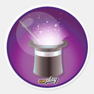 Weplay Props Series 1 - Magic! Classic Round Sticker