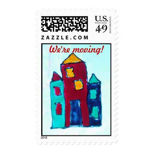 We'r Moving! Postage