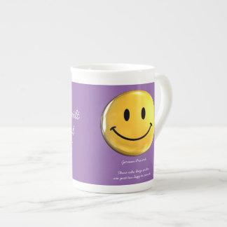 Wer Ordnung haelt ist nur zu faul zum Suchen Tea Cup