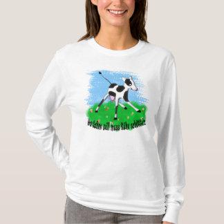 Wer Sahne will muss Kühe schütteln T-Shirt
