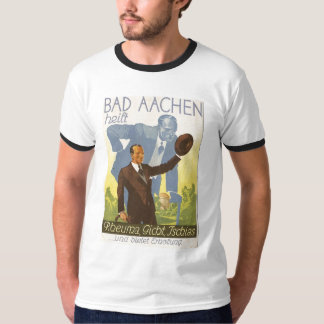 Werbekarte Aachen 1931 Stop Backaches - Germany T Shirt