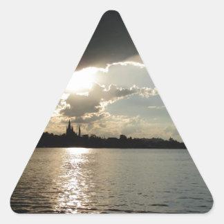 Werder Havel Germany Triangle Sticker