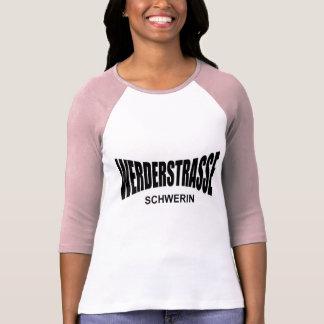 WERDERSTRASSE TRAZADO WERDER - Schwerin Camisetas