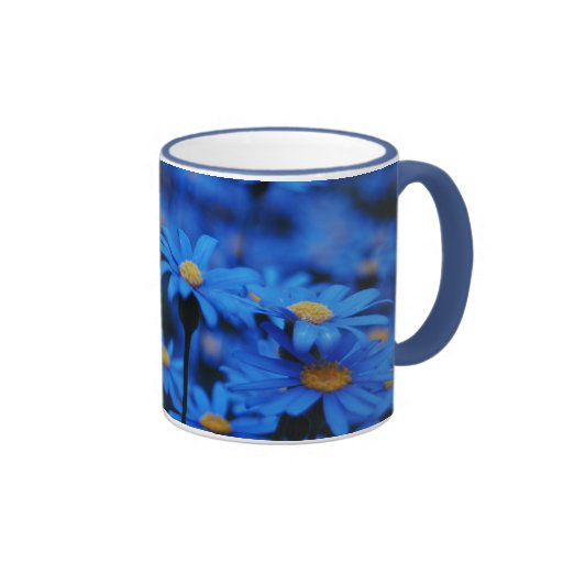 We're All Blue Ringer Mug