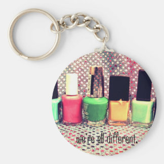We're all different keychain