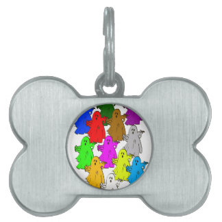 We're all different pet ID tag