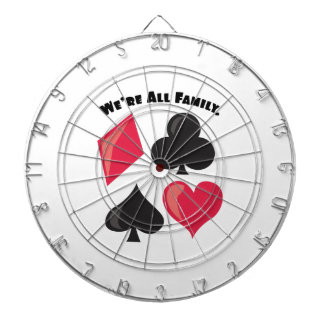 We're All Family. Dart Board