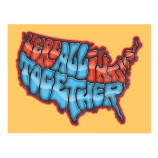We're All in This Together Postcards