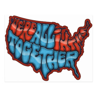 We're All in This Together Post Cards