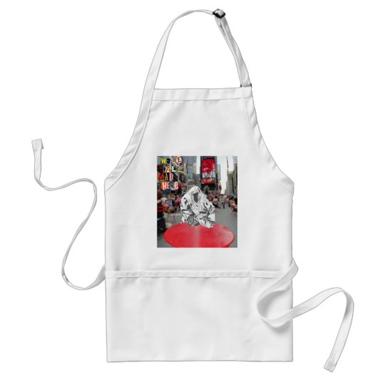 We're All Mad Here Adult Apron