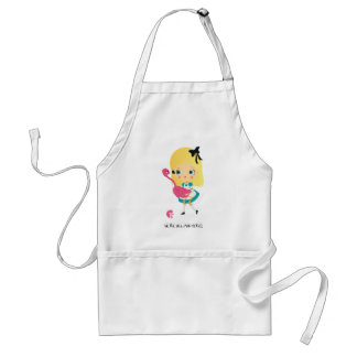 We're all mad here! Apron