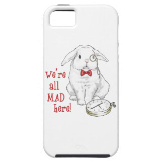 We're All Mad Here! iPhone 5 Case