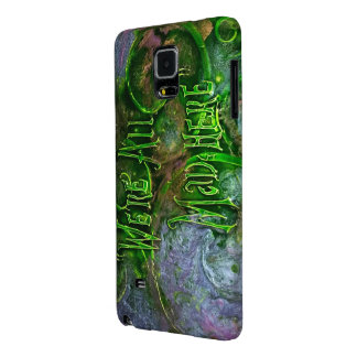 """""""We're All Mad Here"""" Galaxy Note 4 Case"""