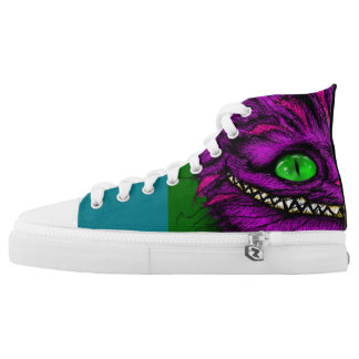 Were All Mad Here... High-Top Sneakers